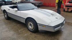 87 Corvette Front