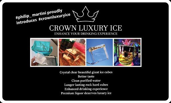 crown luxury ice
