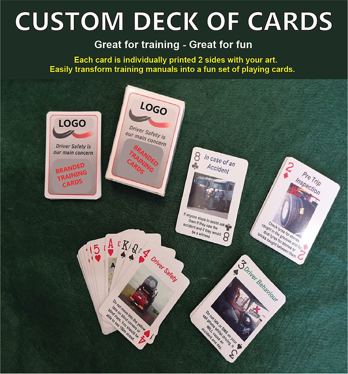 Custom deck of cards. Oem playing cards. Custom made playing cards.