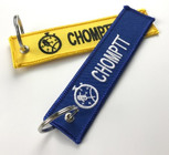 Embroidered Tag Keyring