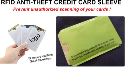RFID- Anti-Theft Sleeve - FROM R3.95