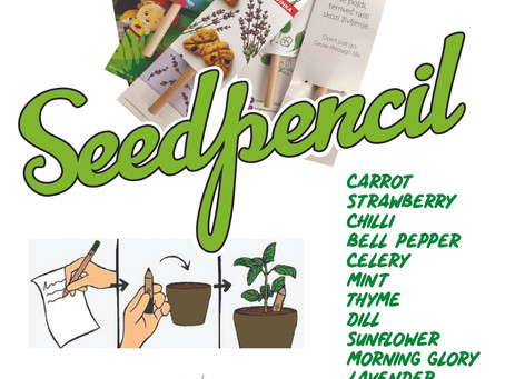 Seed Pencils - The pencil that comes to life!