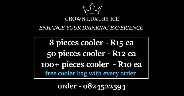 order crown luxury ice
