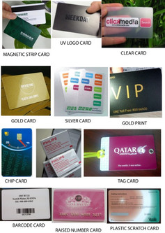 PVC-CARDS - FROM R1.99