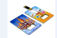 BOTTLE OPENER CARD USB