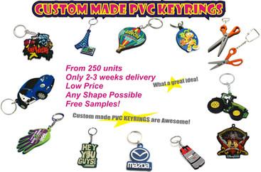 PVC_KEYRINGS- CUSTOM MADE