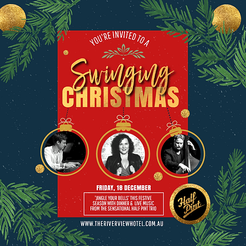 Swinging Christmas the Riverview hotel 1