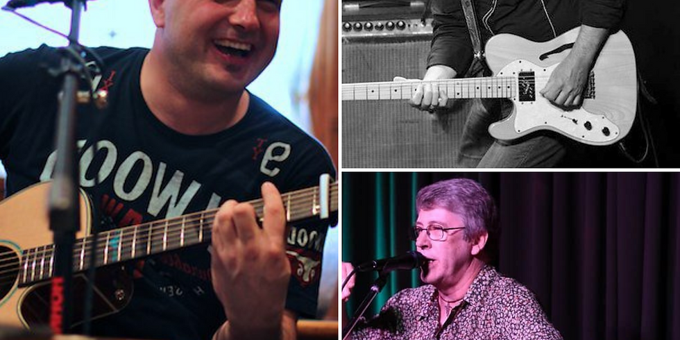 The Session w/ Paul Decarlo, Wayne 'Songtrain' Tritton, Ben Little