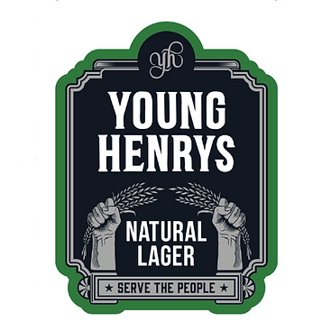 The Riverview Hotel young henrys Natural Lager