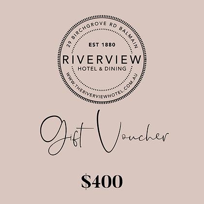 Gift Voucher $400