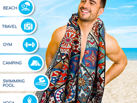 The Micro Fiber Magic in Beach Towels and Travel Towels