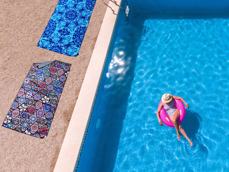 Never Miss a Quick Dry Microfiber Travel Towel for Your Seaside Trip