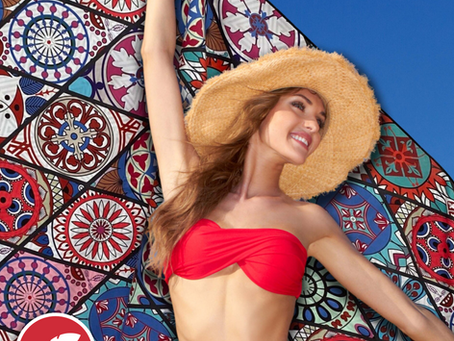 Some Comfortable Beach Towels to Dry Yourself With!