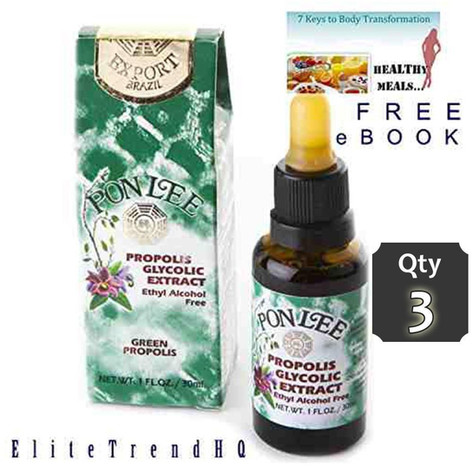 PON LEE BRAZIL BEE PROPOLIS qty 3