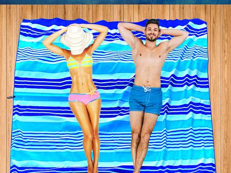 Next Time to the Beach Choose the Microfiber Beach Towel