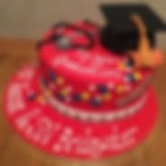 Medical Graduatin Cake