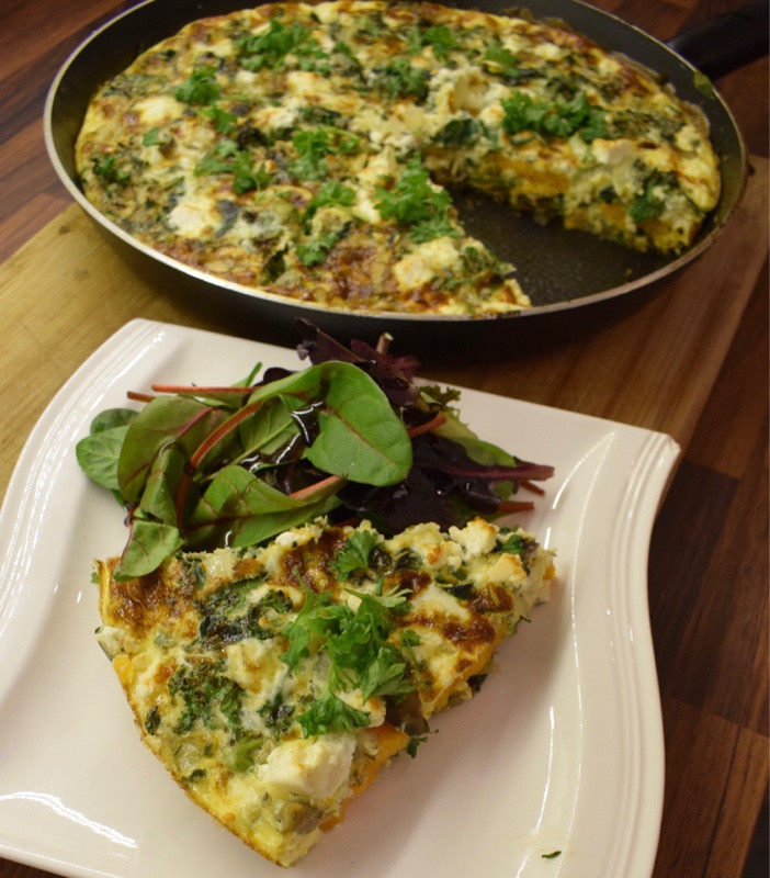 Superfood and Feta Frittata