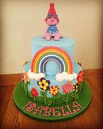 "Poppy from ""Trolls"" Cake"