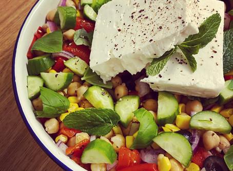 Easy Lunch Box Salad