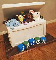 Large Toybox Cake