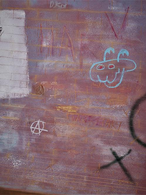 - MONTAGU STREET GRAFFITTI -
