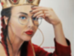 Drawing of Qveen Herby