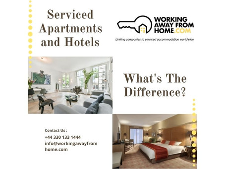 Serviced Apartments and Hotels – What's The Difference?