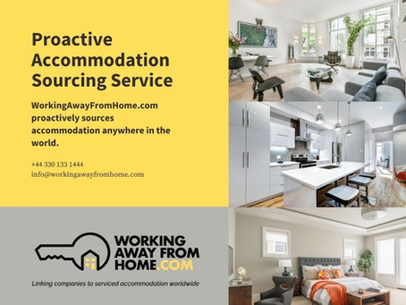 WAFH.com Proactive Accommodation Sourcing Service