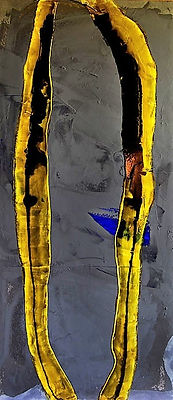 "Fine art gallery Saint Tropez Gianni Fasciani - ""Hasardeux"" 80 x 120 cm"