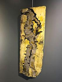 """Fine Art Gallery Saint Tropez  Gianni Fasciani - """"Alium"""" 40 x 110 cm"""