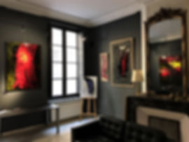 Fine art gallery Saint Tropez