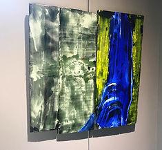 """Fine Art Gallery Saint Tropez Gianni Fasciani - """"Obex"""" 64 x 64 cm"""