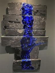 "Fine Art Gallery Saint Tropez Gianni Fasciani - ""Partem"" 100 x 147 cm"
