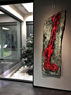 "Fine Art Gallery Saint Tropez Gianni Fasciani - ""Prière"" 50 x 175 cm"