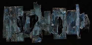 """Fine Art Gallery Saint Tropez Gianni Fasciani - """"Ombres portées"""" 99 x 47 cm"""