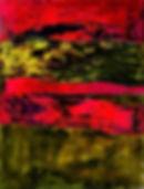 "Fine Art Gallery Saint Tropez Gianni Fasciani - ""Flux"" 120 x 160 cm"