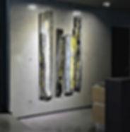 """Fine Art Gallery Saint Tropez Gianni Fasciani - """"Toujours le même choix"""" 125 x 212 cm"""