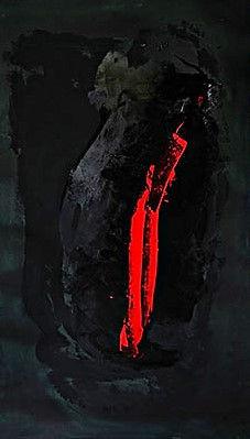 "Fine Art Gallery Saint Tropez Gianni Fasciani - ""Sortie"" 148 x 86 cm"
