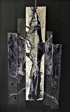 "Fine Art Gallery Saint Tropez Gianni Fasciani - ""L'envolée"" 88 x 155 cm"