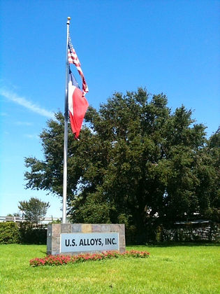 U.S Alloys, Inc. Sign