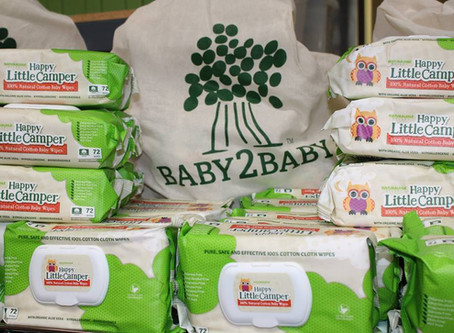 Hilary Duff and Naturalena Foundation Team up with Baby2Baby