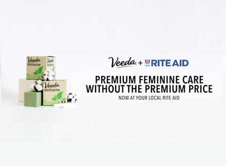 Veeda launches at Rite Aid