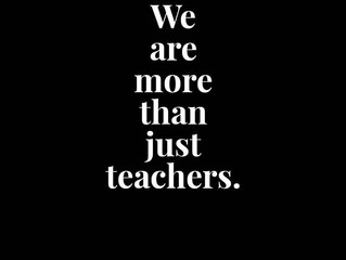 We are more than just teachers.