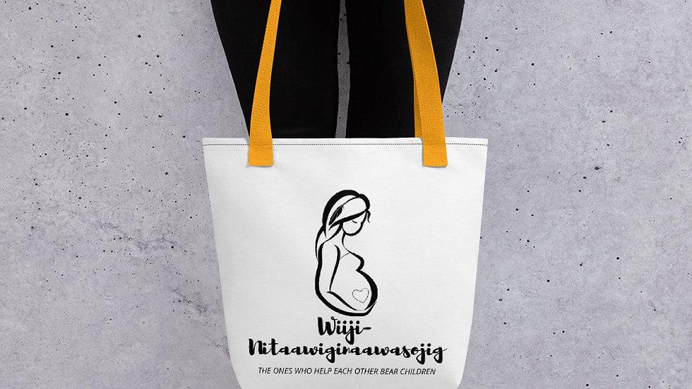 Wiiji-Nitaawiginaawasojig Tote bag