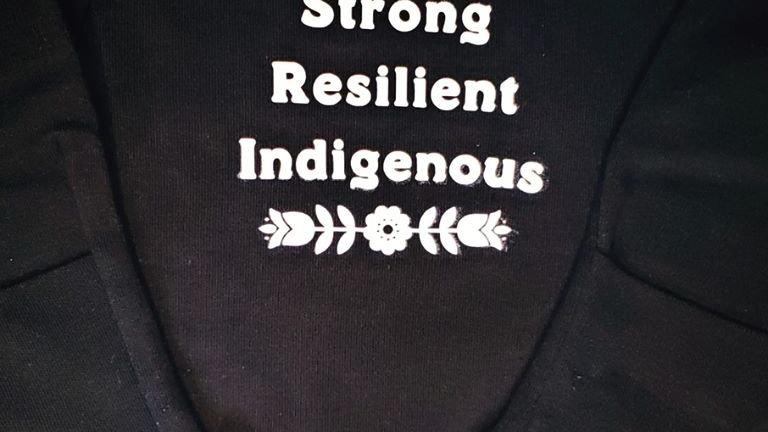 Indigenous Newborn Sleeper Gown