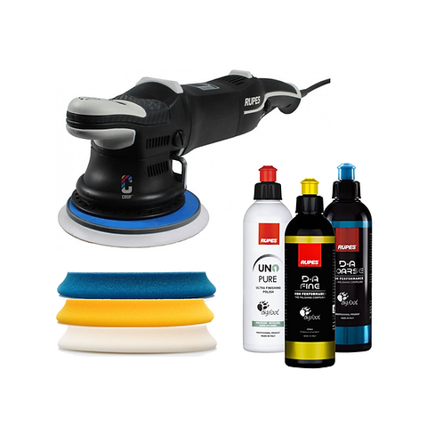 Rupes LHR 15 MKIII Polisher, Pad & Product Kit
