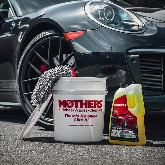 Mothers Triple Action Foam wash
