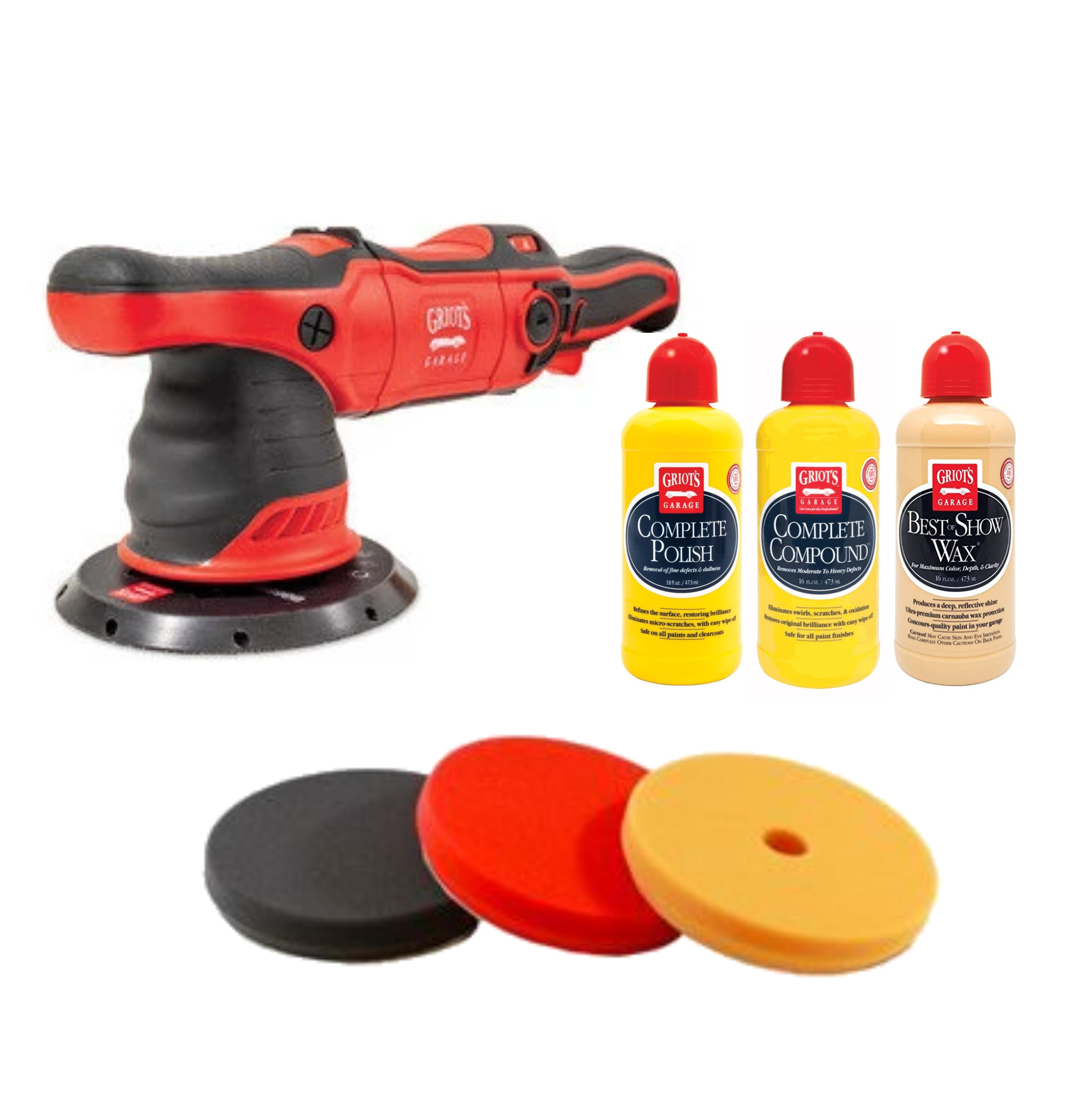 Griot's G9 Pad & Products Kit