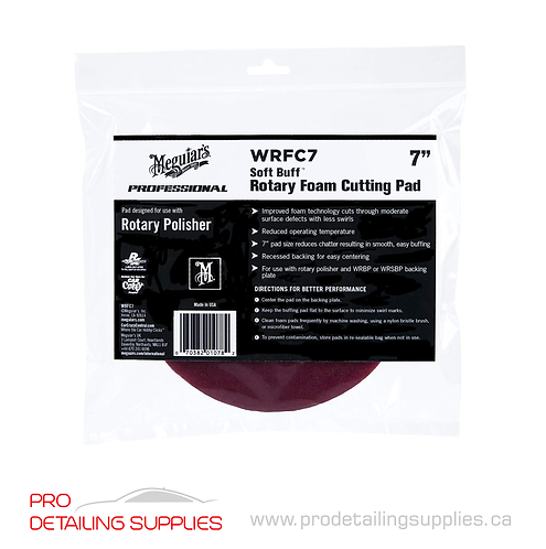 Meguiar's (WRFC7) Soft Buff Rotary Foam Cutting Pad