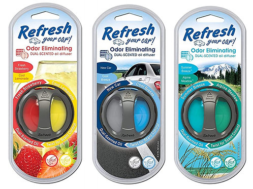 Refresh Your Car Dual Scent Diffusers